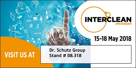 Interclean 15 - 18 Mai, 2018. Stand 08_318.