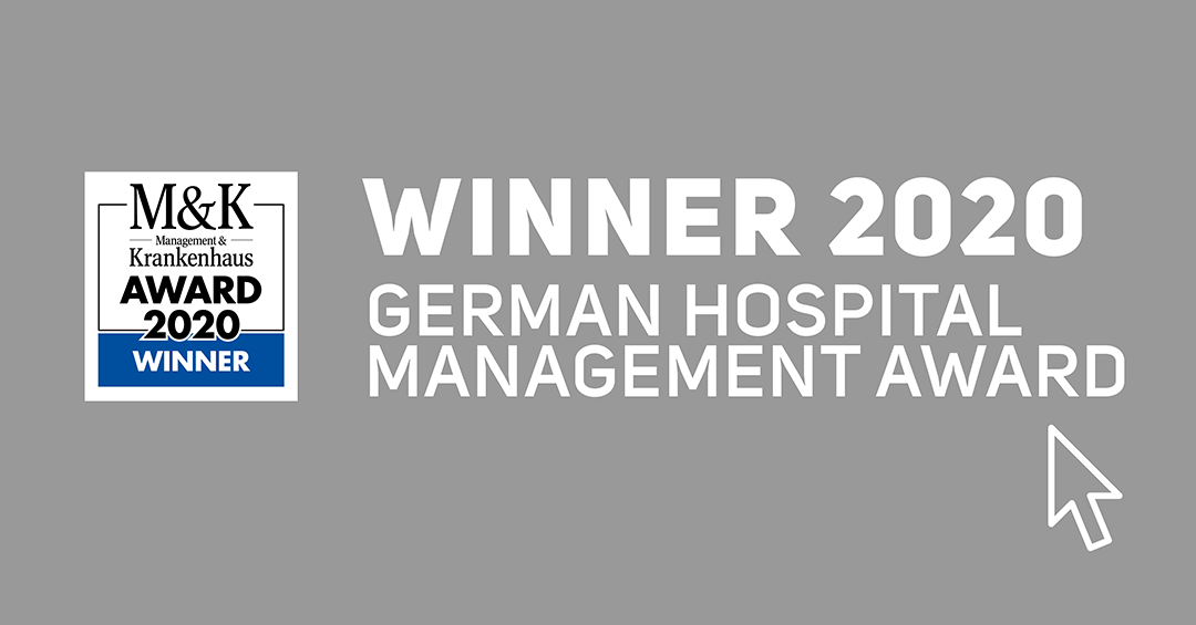 Winner 2020 German Hospital Management Award - MK Krankenhaus Award Winner