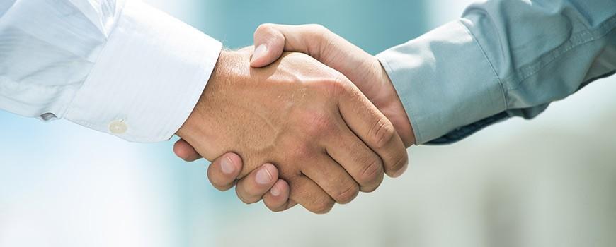 Unternehmen-Handelspartner